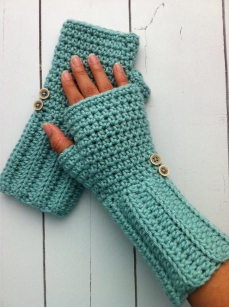 DIY Fingerless Crochet Gloves - Page 9 of 14 - Sugar Bee ...