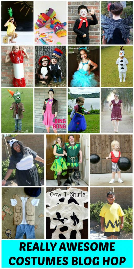 REALLY AWESOME COSTUME BLOG HOP COLLAGE