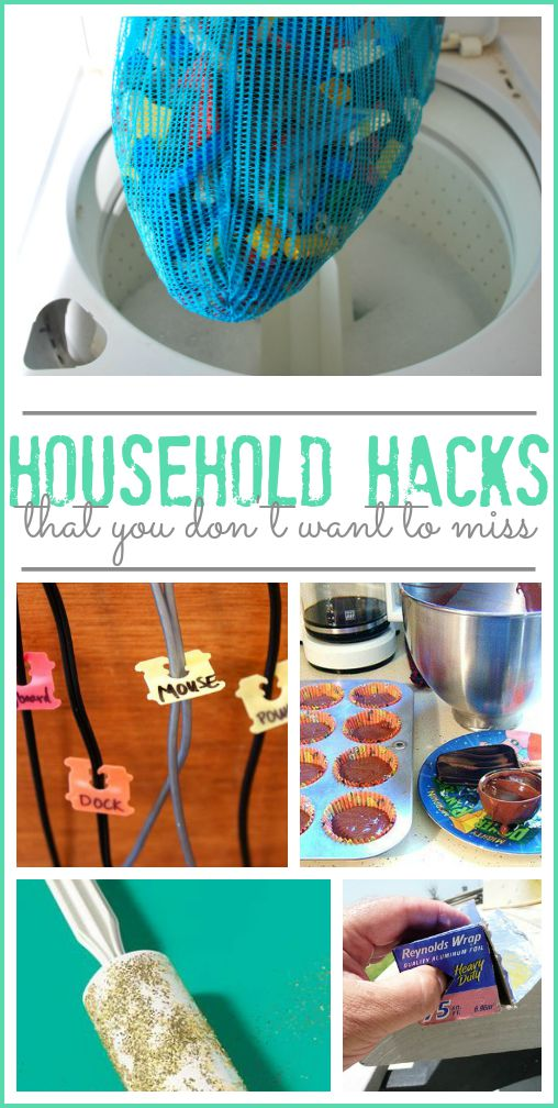 Household hacks that you don 39 t want to miss sugar bee for Household hacks