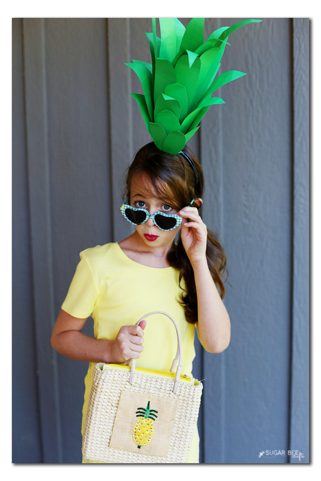 how to make a pineapple top headband