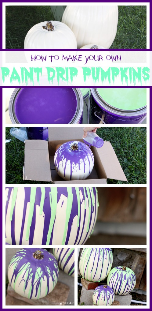 make-paint-drip-pumpkins
