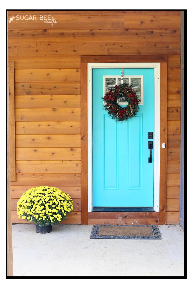 Sensational Dream Front Door Sugar Bee Crafts Largest Home Design Picture Inspirations Pitcheantrous
