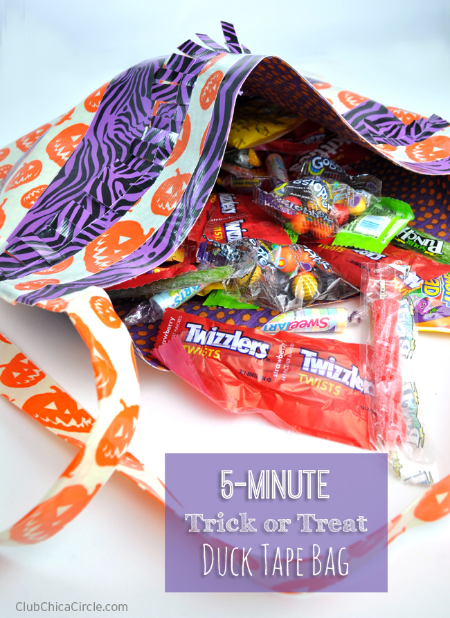 Homemade-Trick-or-Treat-Duck-Tape-bag-craft