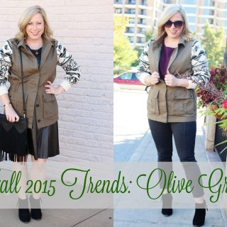 Fall 2015 Trends: Olive Green