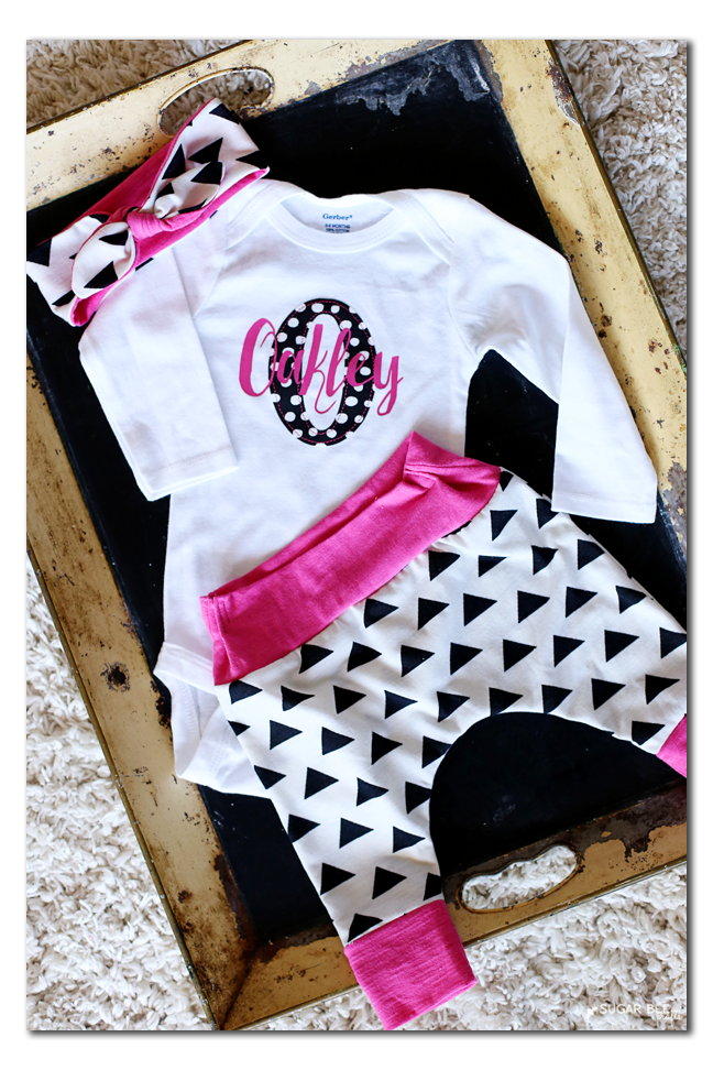 custom baby outfit you can make and sew