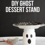 DIY Ghost Dessert Stand