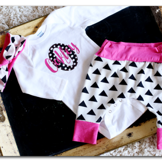 diy personalized baby outfit