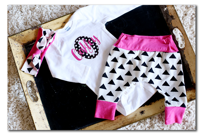 Personalized Baby Outfit