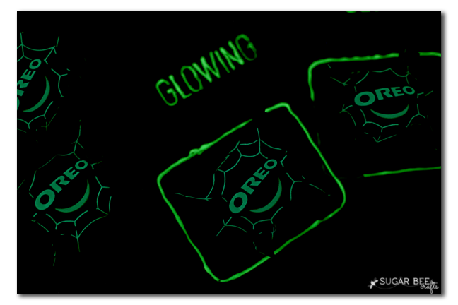 glow halloween treat