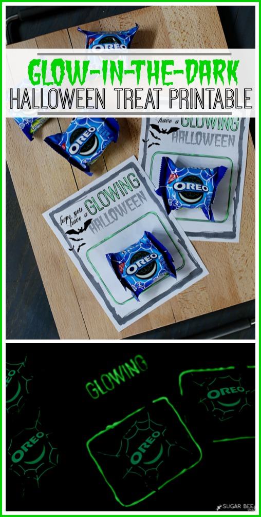 glow in the dark, FREE Halloween Treat Printable