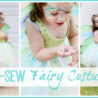 no sew fairy costume