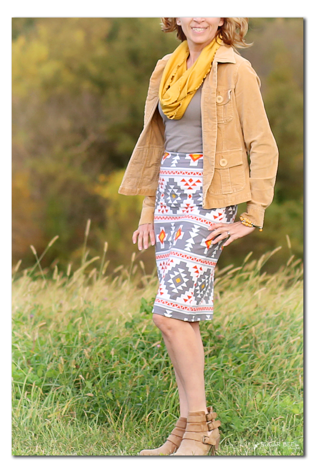 sew your own pencil skirt