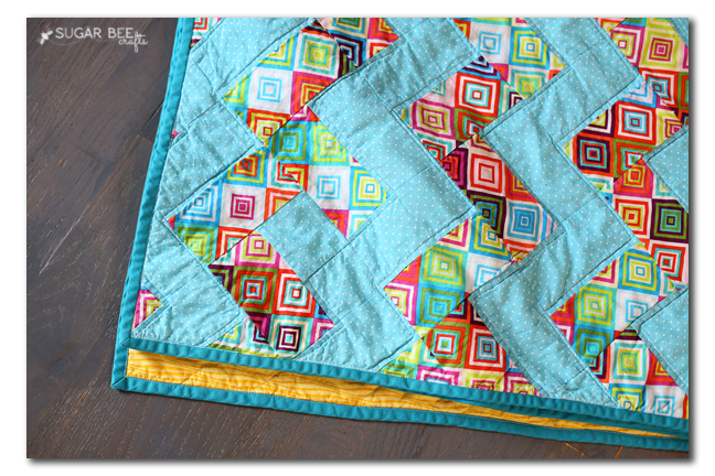 zig zag chevron easy quilt you can make