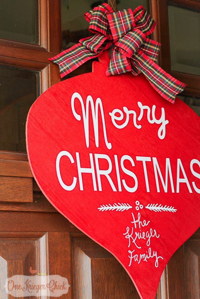 Pottery barn inspired merry christmas sign onekriegerchick com 9487