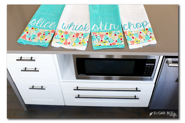 handmade kitchen towels custom