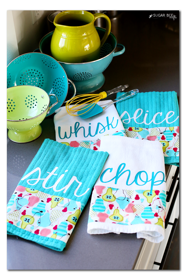 kitchen towel diy