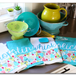 Custom Kitchen Towels (and giveaway!)
