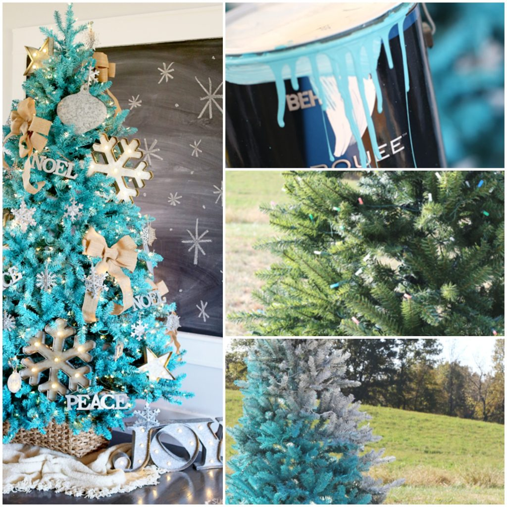 How to Paint a Christmas Tree - Sugar Bee Crafts