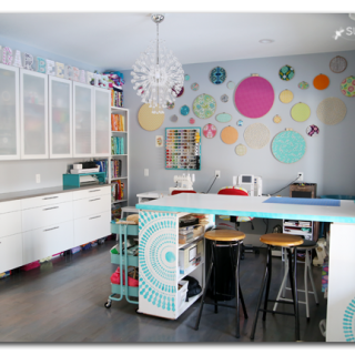 craft room creative space idea