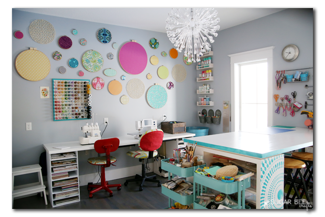 craft room organization sugar bee crafts