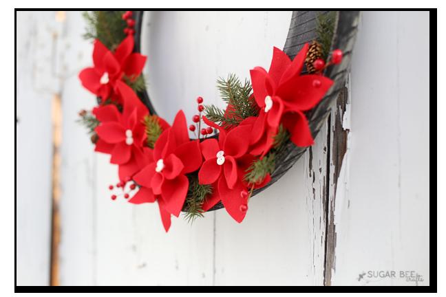 diy outdoor wreath