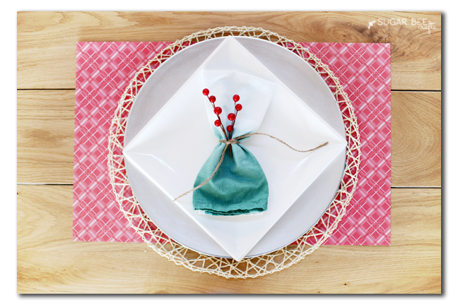 how to custom dip dye napkins