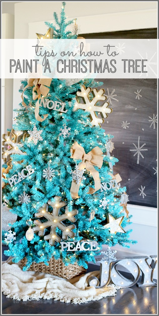 tips-on-how-to-paint-a-Christmas-tree