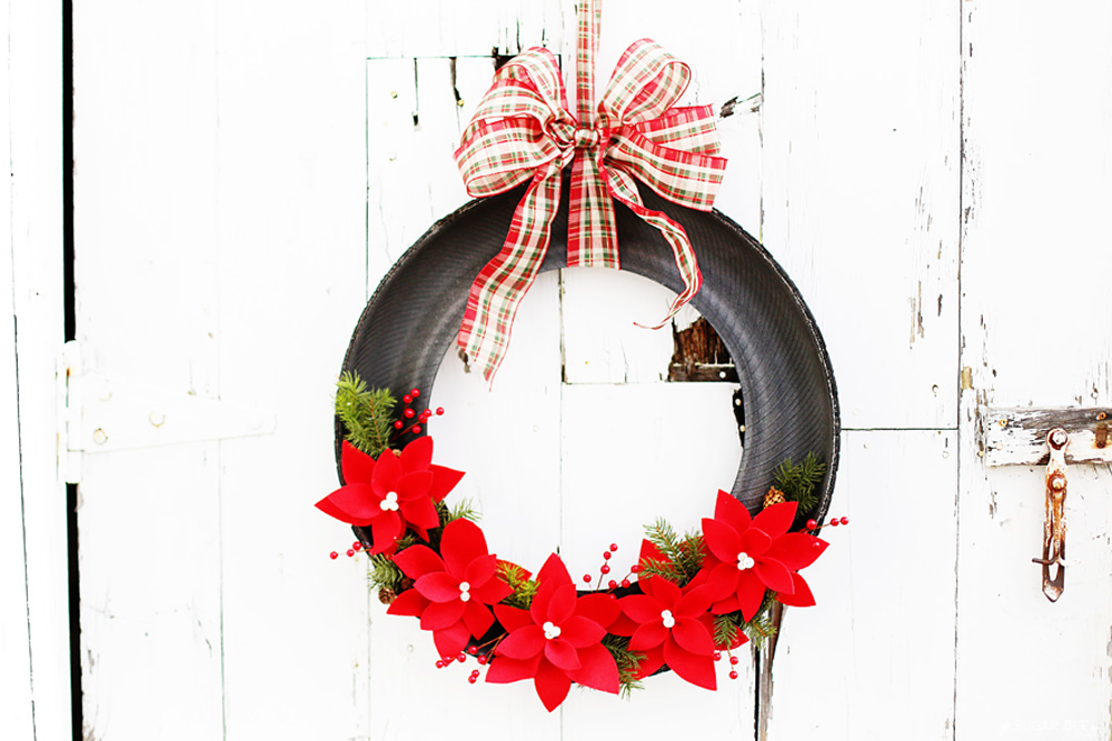 wreath-from-a-tire