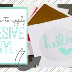 How to Apply Adhesive Vinyl