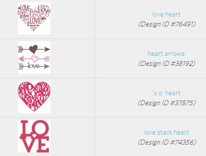 design studio store hearts