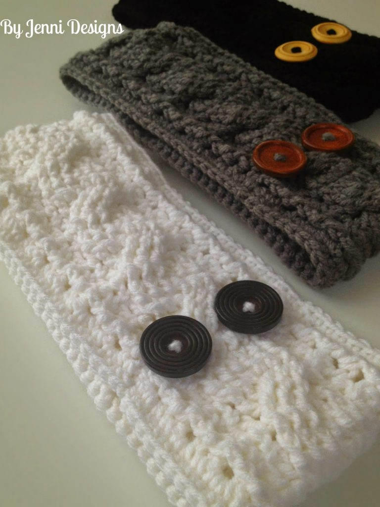 Crochet Headbands and Ear Warmers - Sugar Bee Crafts