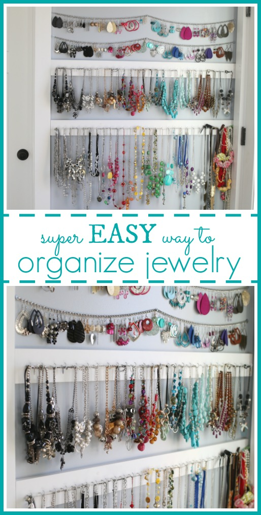 Easy way to organize jewelry
