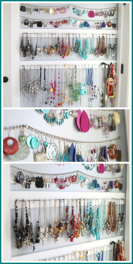 How to organize jewelry idea