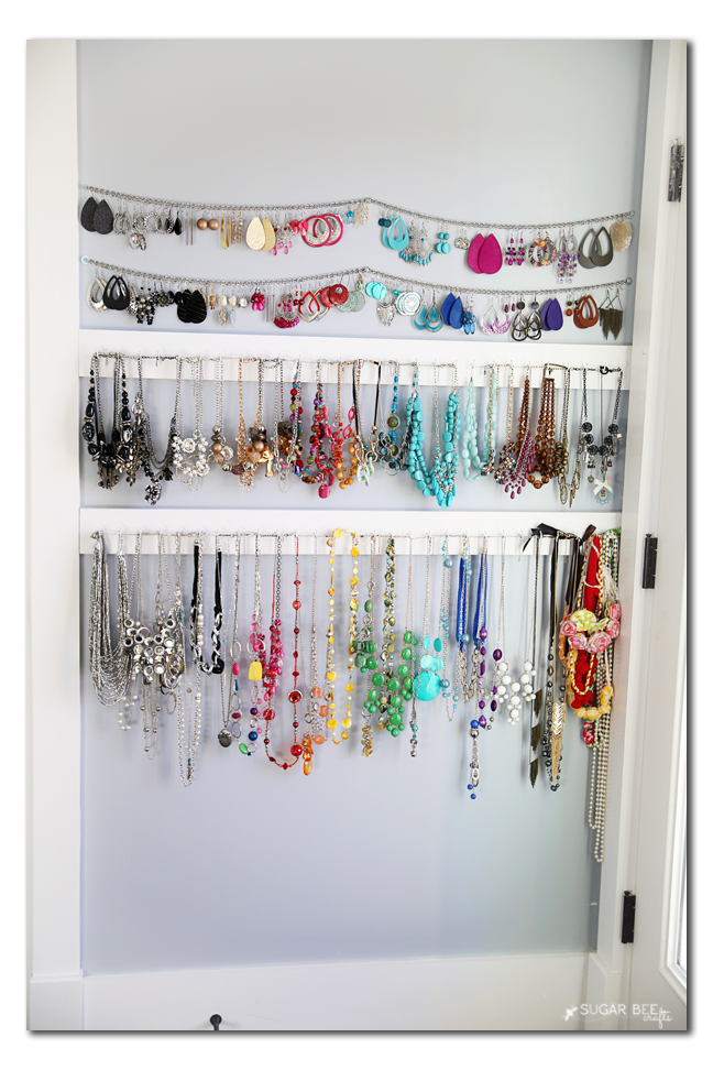 jewelry organizer display