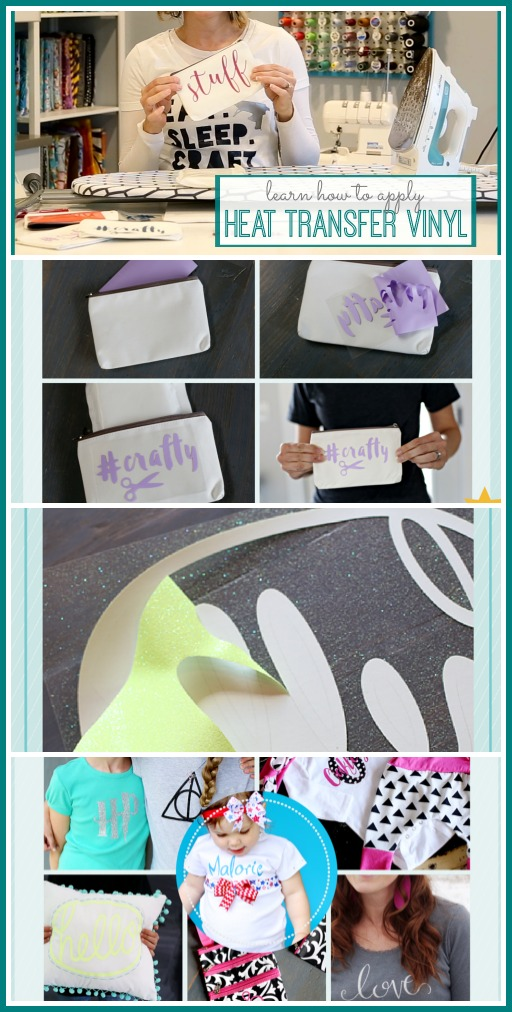 learn how to apply heat transfer vinyl