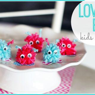 Love bug kids craft 1