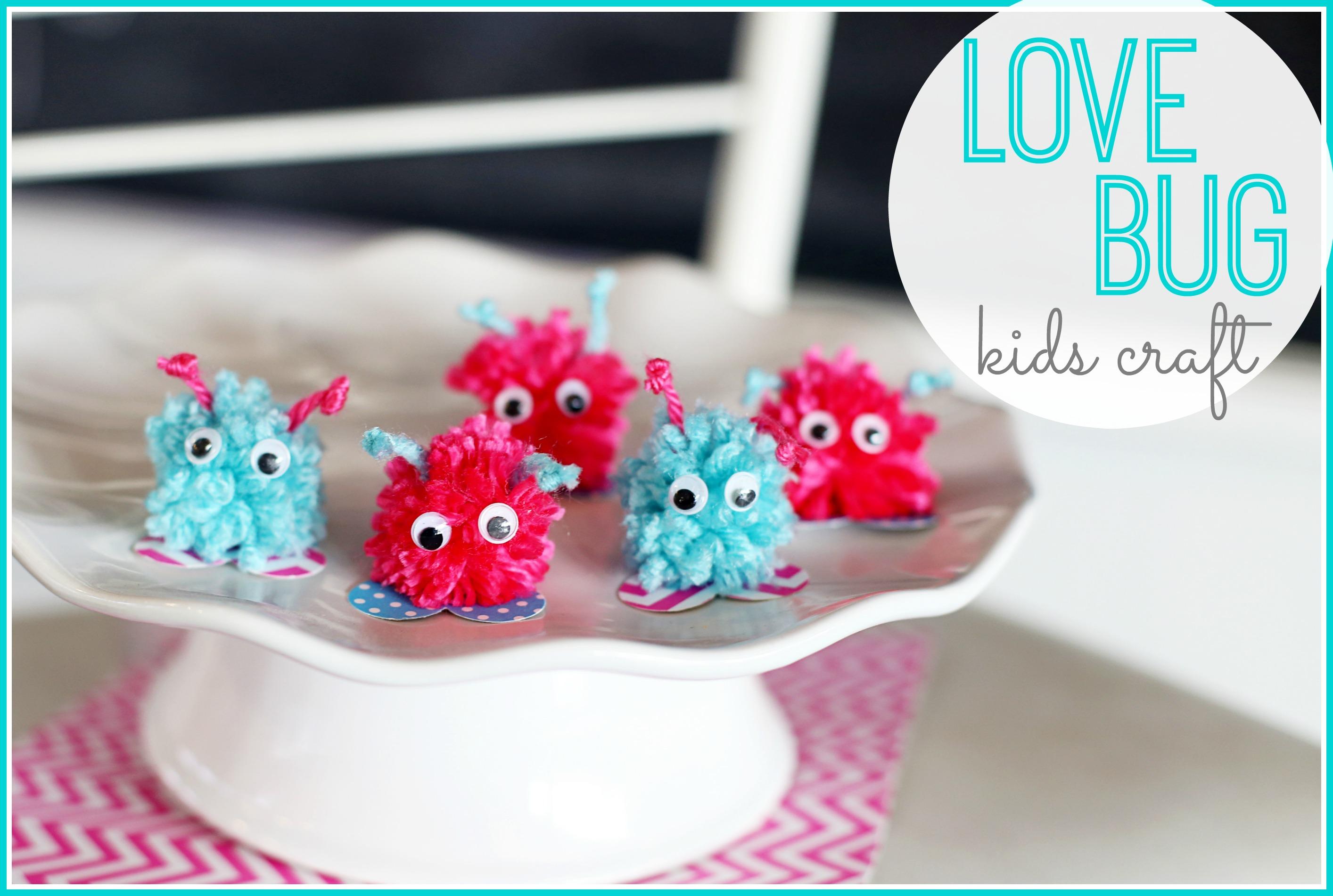 Love Bugs Kids Craft Sugar Bee Crafts