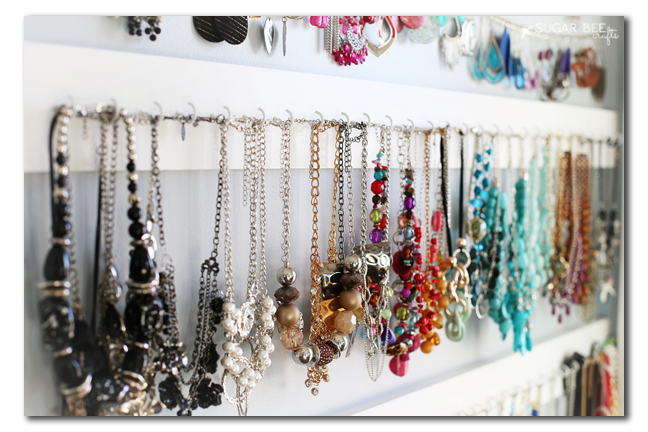 short necklace storage