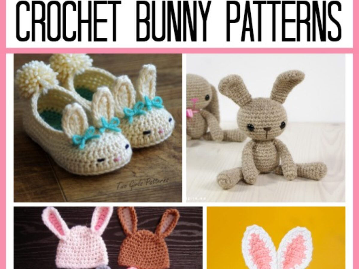 17 Adorable Bunny Crochet Patterns that are Perfect for Easter | 900x1200