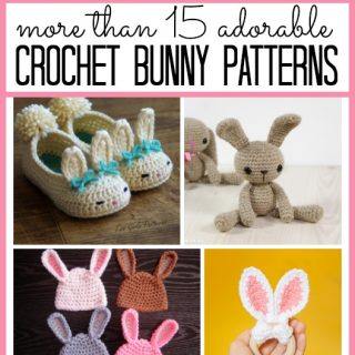 Crochet bunny patterns