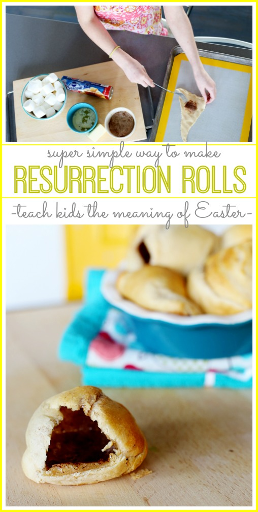 Easter Resurrection Rolls how-to