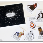 Star Wars Bedroom Mini Makeover – with wall art!