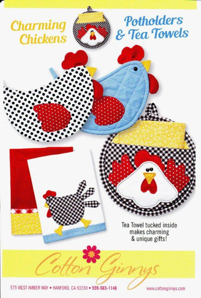 20 Fabric Chicken Ideas Free Patterns Tutorials