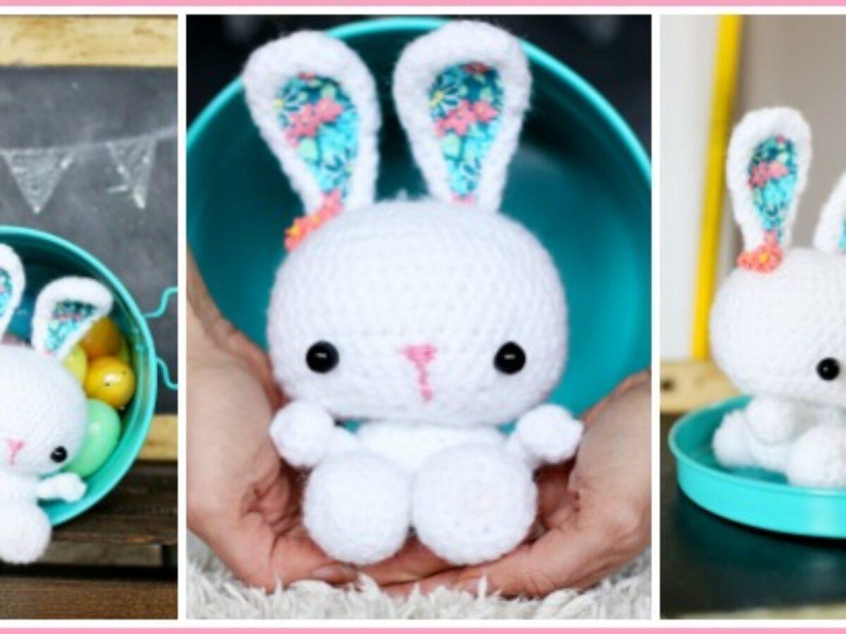 Crochet Bunny Amigurumi Project: British Wool | TOFT | 900x1200
