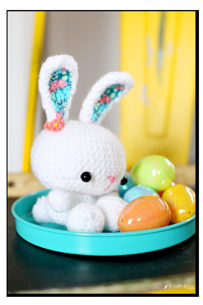 crochet bunny pom pom tail