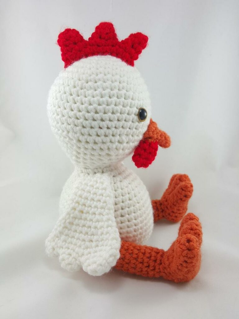 Easter Crochet Chicken Free Patterns & Instruction [Easter Decor ... | 1024x768