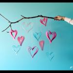 Make Paper Strip Hearts
