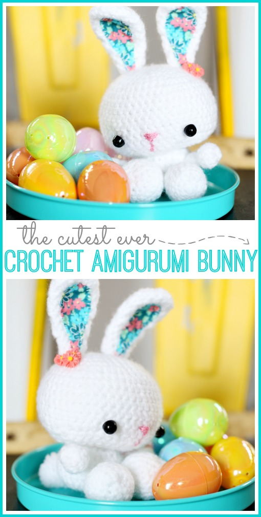 make a crochet bunny amigurumi