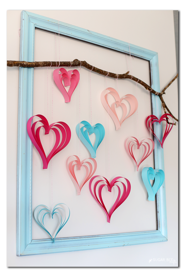 paper strip heart how-to