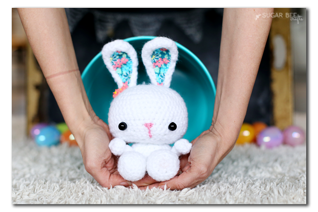 small crochet bunny